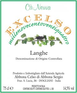 Excelso-label