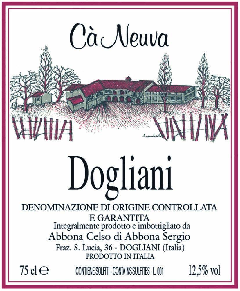 Dogliani DOCG - Etichetta